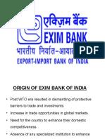 Exim Bank -IB