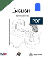 English 6 DLP 12 Common Idioms