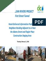 DC Water 1st Street Tunnel DivP_AdamsStMTBM_handout 2016 02 11
