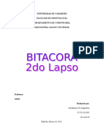 Bitacora 2do lapso