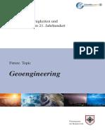 Future Topic Geoengineering