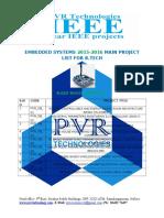 Pvr Technologies Titles for b.tech