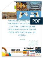 Online vs Mall Shopping