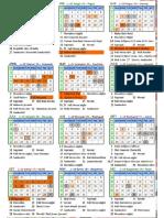 SY Calendar 2016