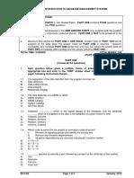 NIELIT CCC Exam Paper