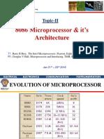 CS EEE F241 Microprocessor Architecture Jan 19th 2016