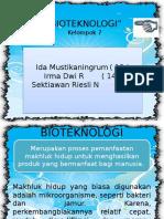 Bioteknologi New