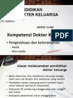 Pendidikan Dokter Keluarga (HB)