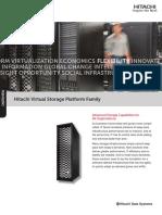 Hitachi Overview Brochure Vsp Family