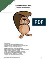 Aufgaben Und Loesungen Informatik-Biber 2007