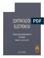 Contratacion Electronica(Valladolid)
