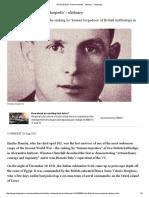 Emilio Bianchi, 'Human Torpedo' - Obituary - Telegraph