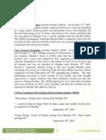 Case Concern Example 2007 2008