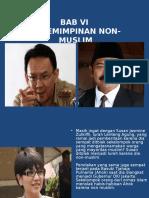 Bab Vi Kepemimpinan Non-muslim