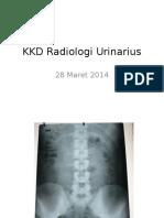KKD Radiologi Sist Urinarius