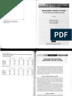 Merchant, K ; Van Der Stede, W. Management Control Systems. Cap. 6