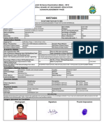 JEE(Main) AcknowledgementPage 2