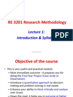 Lecture 1 Introduction & Syllabus