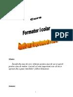 Curs Formator Scolar