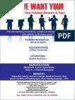 Job Advertisement - Feb
