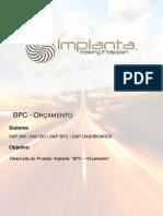 1.4 - Implanta - Bpc Orcamento