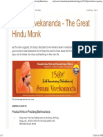 Swami Vivekananda - The Great Hindu Monk_ Practical Hints on Practising Brahmacharya