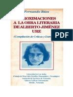 Rodríguez Sánchez Sobre Aproximaciones a La Obra Literaria de Jiménez Ure