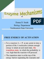 Enzyme Mechanisms