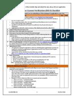 IDLV Checklist 080216