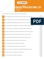 34 Ways Blogs Email List