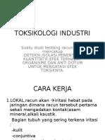 Toksikologi Industri