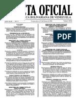 Gaceta Oficial 40.846 - Notilogia