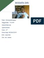 Biodata Irwan
