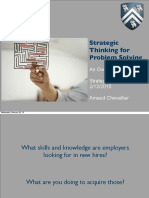 2015 Strategic Thinking for Complex Problem Solving Arnaud Chevallier