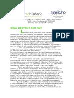 ATIVIDADES DE REVIS+âO DE CONTE+ÜDOS -L+¡ngua Portuguesa - 7-¦ ano -1-¬ avalia+º+úo2009