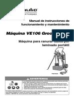 Ve106-Spa Ranuradora Victaulic