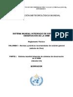 Reglamento Técnico OMM Sistemas de Medición