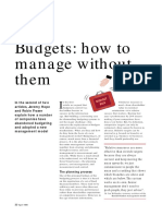 2-Budgets - How to Manage Without Them