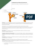 Componentes Generales de Un Sistema de Comunicación
