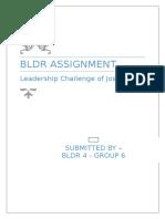 Leadership Challenge of Jose