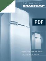 -Refrigerador. Duplex Frost Free Eletrônico 370, 430 e 430 Zyrium