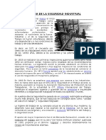 Historia de La Seguridad Industrial