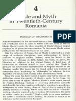 Ivan Strenski Four theories of myth in twentieth-century history - the Eliade section