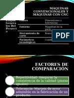 Máquina Herramienta Convencional Frente a CNC