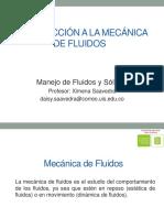 1. Introducción a La Mecánica de Fluidos