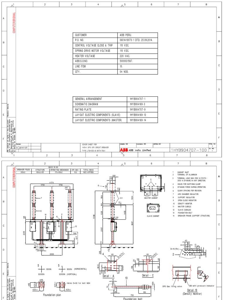 Planos Interruptor-14 11 07 pdf | Electricity | Force