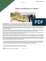 Comment l'OCP Compte Se Positionner en Afrique