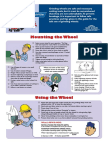 Grinding Wheel Safety POSTER-Bonded