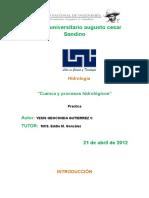 Cuencas y registros hidrologicos