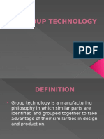 Group Technology Introduction Presentation